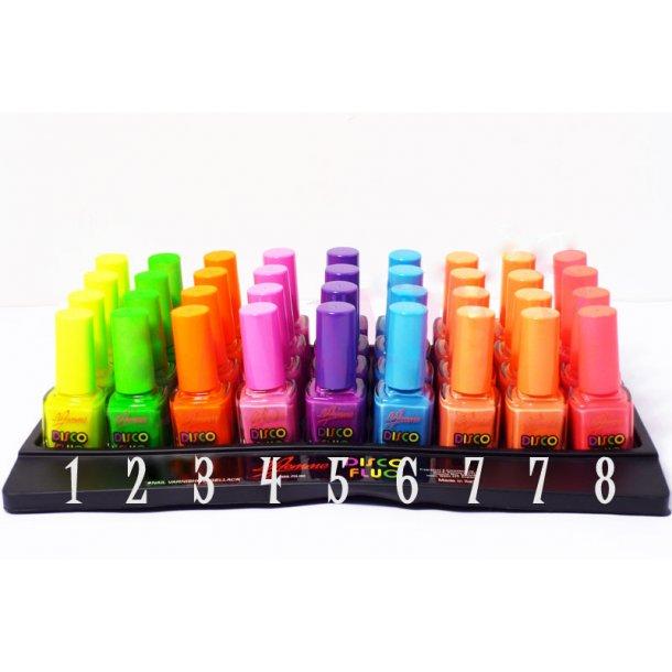 Neglelak UV Aktiv - neon farver
