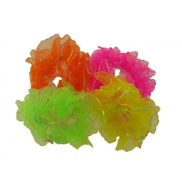 Hårelastik - neon og andre farver