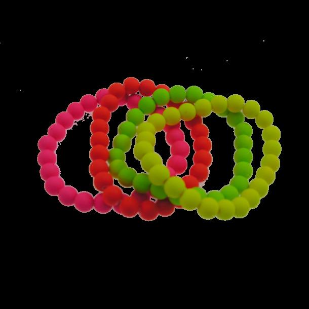 Armbånd 3pk - neon farver