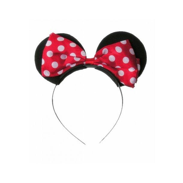 Minnie Mouse Ører - Hårbøjle