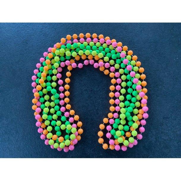 Halskæde - neon Farver
