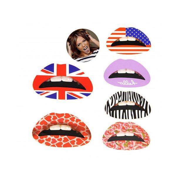 Lip Sticker - Lip Tattoo - Midlertidig læbe tatovering